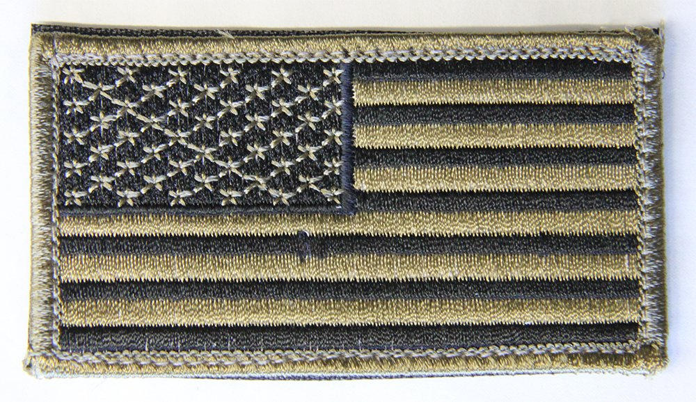 M1SURPLUS Tan Rifle Cheek Rest + USA Patriot Flag Morale Patch Fits Ruger PC4 PC9 PC Carbine 22 10/22 77/22 Gunsite Scout N0.1 Hawkeye M77 77/22 Mini14 Mini30 American Ranch Rifle by M1SURPLUS