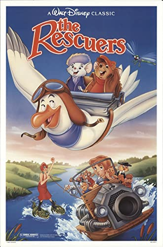 Image result for the rescuers poster