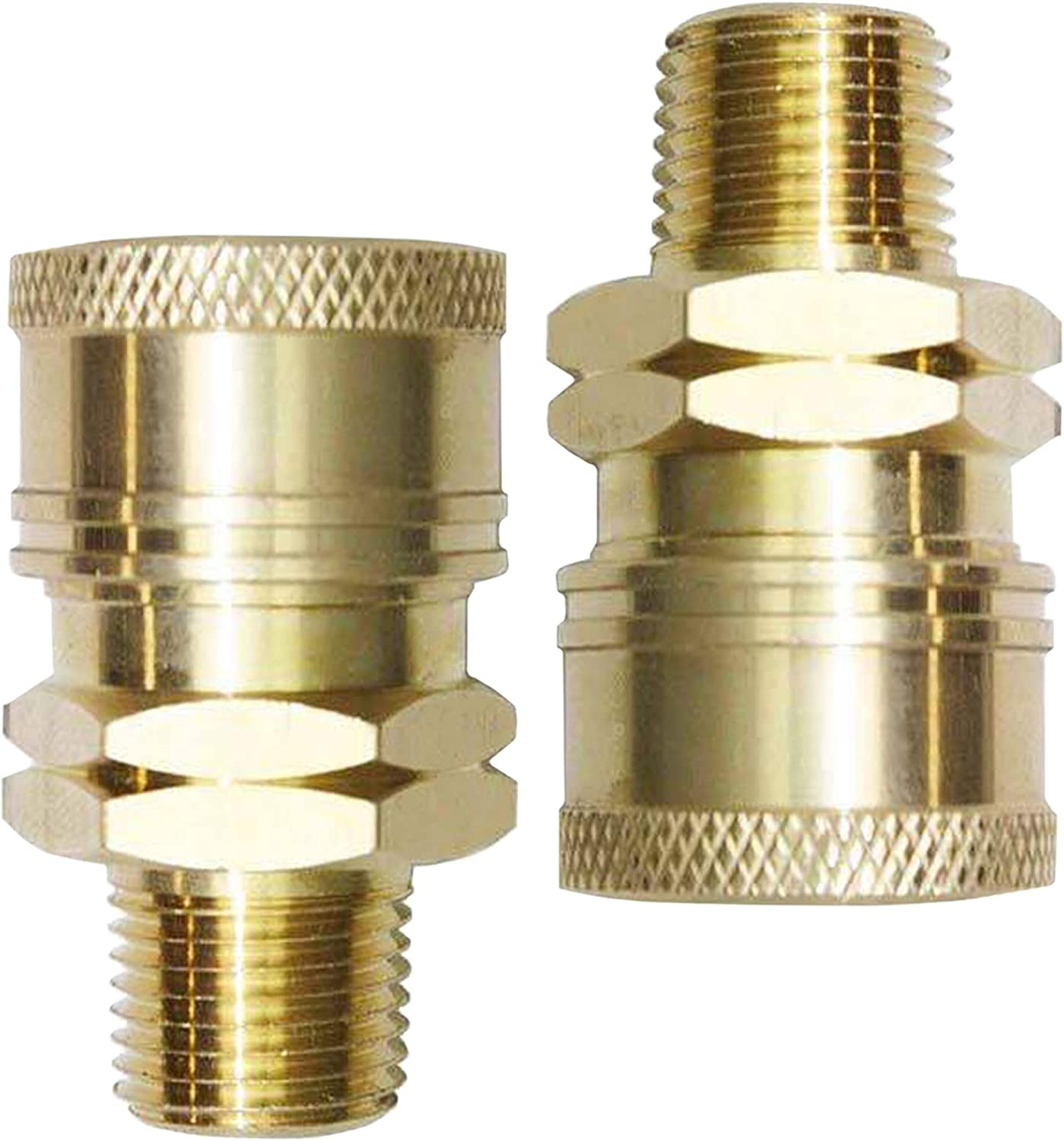 """4-pk 3//8/"""" NPT Pressure Washer Hose Quick Disconnects"""