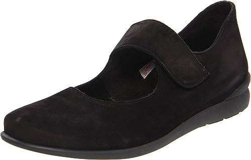 Arche Women's Bahzem Nubuck Shoe, Noir