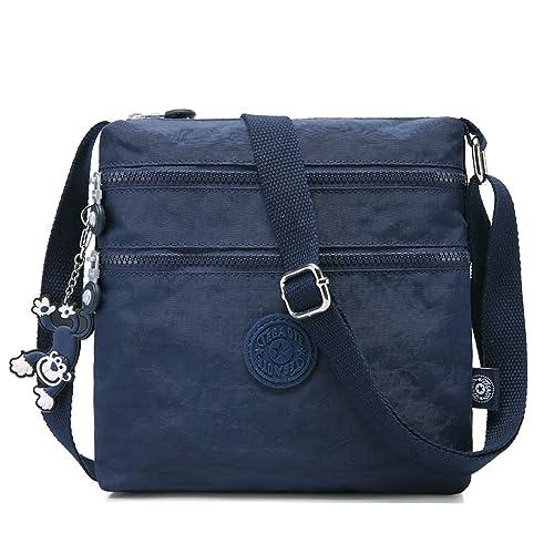 Foino Bolso de Moda Bolso Bandolera Mujer Bolsas de Viaje Bolsos Escolares Bolsa de Deporte Ligero Vintage Colegio Libro Travel Bag para Tablet Bolsa ...
