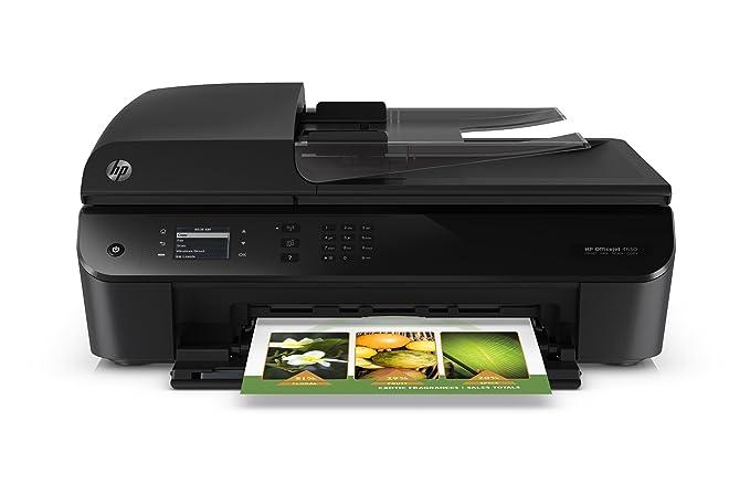 HP OfficeJet 4632 - Impresora multifunción (inyección térmica de tinta HP, hasta 1000 páginas, 360 MHz, hasta 8.8 ppm, hasta 5.2 ppm)