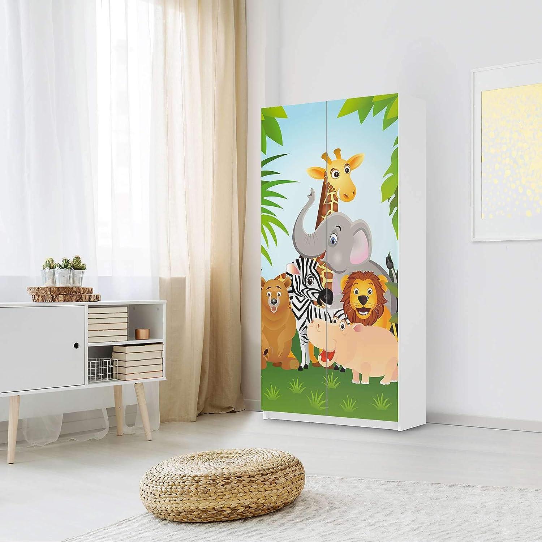 Amazon De Creatisto Mobel Folie Fur Kinder Passend Fur Ikea Pax
