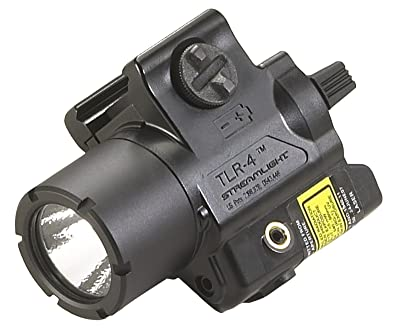 Streamlight TLR-4 Tac Light with Laser, Black