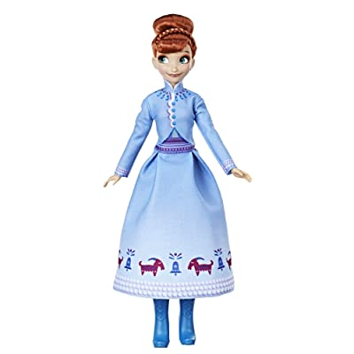 Disney Frozen Olaf's Frozen Adventure Anna Doll: Toys & Games