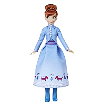 Amazon.com: Disney Frozen Olafs Frozen Adventure Anna Doll ...