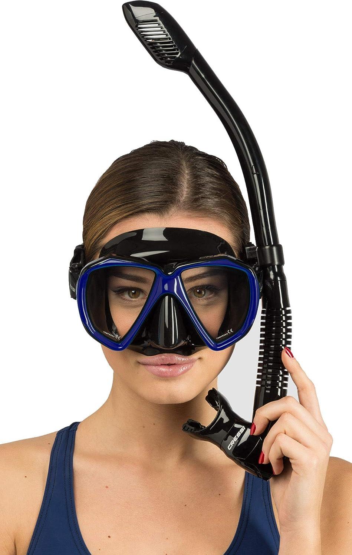 Maske und Schnorchel Set f/ür Erwachsene Cressi Ranger /& Tao