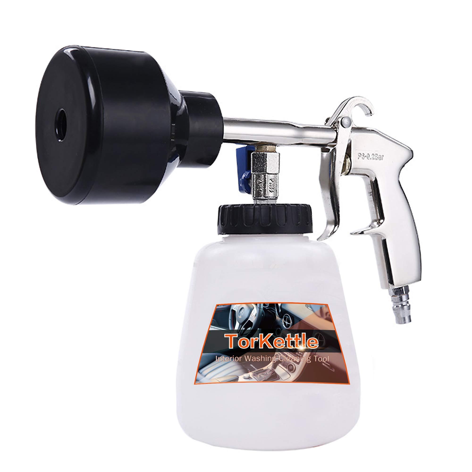 TorKettle Car Cleaning Air Driven Foam Gun (Black)