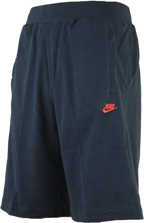 Nike Algodón Hombre 27.9cm Largo Hasta La Rodilla Jersey Pantalones Cortos - Negro / Rojo, Medium: Amazon.es: Deportes y aire libre