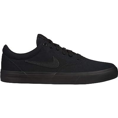 Nike SB Charge CNVS Mens Fashion-Sneakers CD6279-001_7.5 - Black/Black-Black | Fashion Sneakers