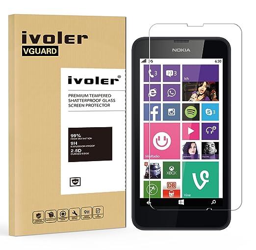 19 opinioni per Nokia Lumia 630/635 Pellicola Protettiva, iVoler® Pellicola Protettiva in vetro