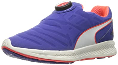 PUMA Women's Ignite Disc Wn's Running Shoe, Royal Blue White, ...