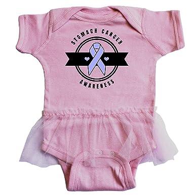 93656529efe4 inktastic - Stomach Cancer Awareness Infant Tutu Bodysuit Newborn Pink 32a76