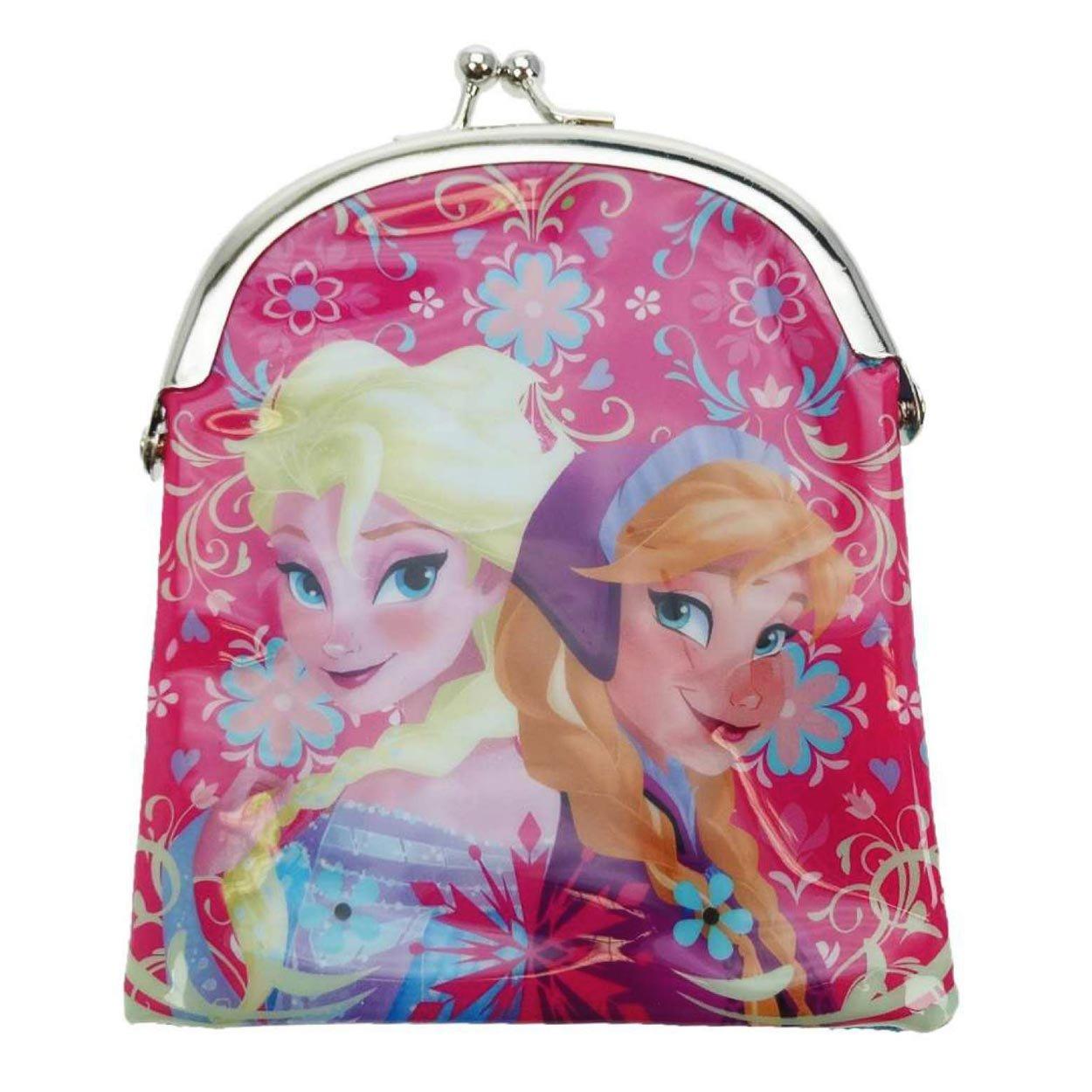 Disney Frozen Coin Pouch, Pink FROZEN004012