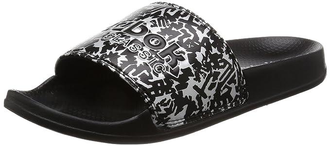 140098b022d78e Amazon.com  Reebok Classic Slide Womens Sandals Metallic  Sports ...