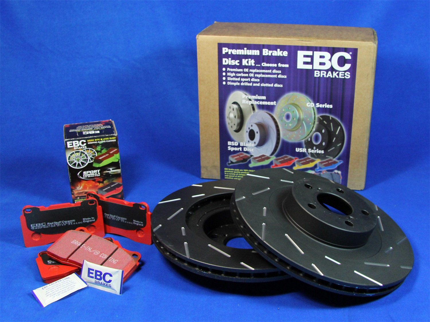 EBC S4KF1358 Stage-4 Signature Brake Kit