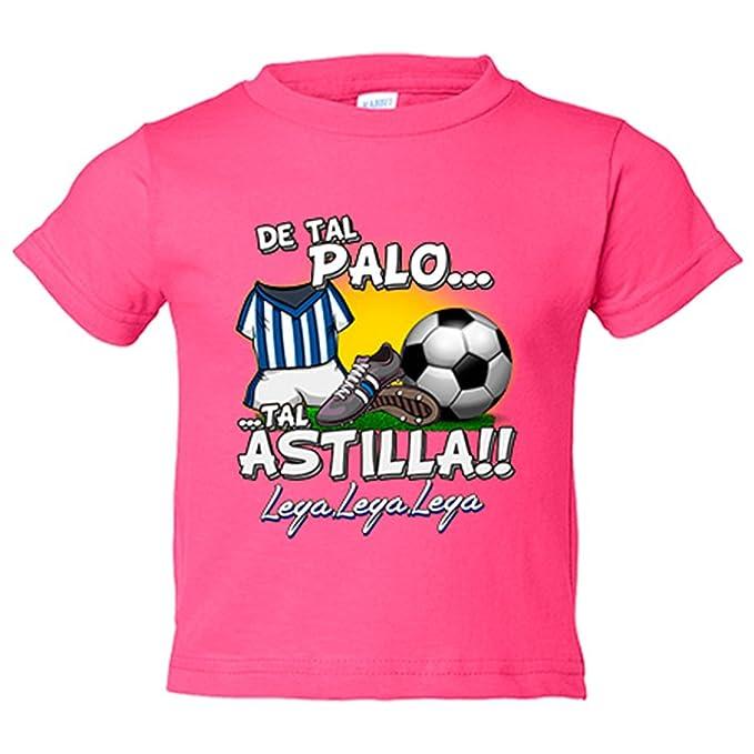 Camiseta niño De tal palo tal astilla Leganés fútbol - Azul Royal, 3-4 años: Amazon.es: Bebé