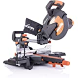 """Evolution Power Tools R255SMS+ 10"""" Multi-Material Compound Sliding Miter Saw Plus"""