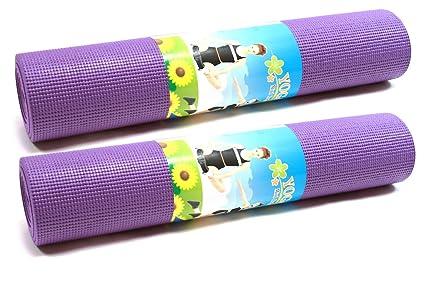 Amazon.com : DLux Excercise Yoga Mat, Premium 1/4