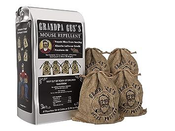 Amazon.com: Grandpa Guss - Bolsas repelentes de ratones con ...