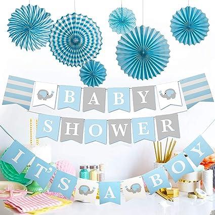 Amazon.com: Guirnalda de papel de seda para niños con diseño ...