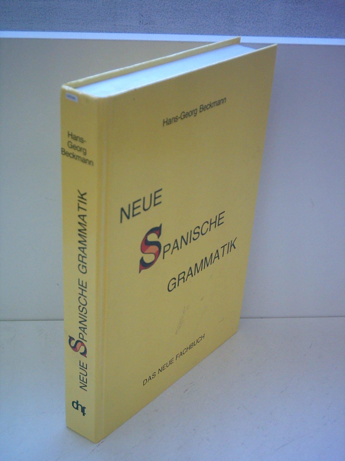 Neue Spanische Grammatik