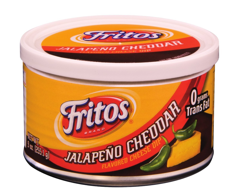 Fritos Dips, Jalapeno Cheddar, 9 Oz (Pack of 3) by Frito Lay