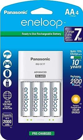 Panasonic K-KJ17MCA4BA - Cargador de batería Individual con ...