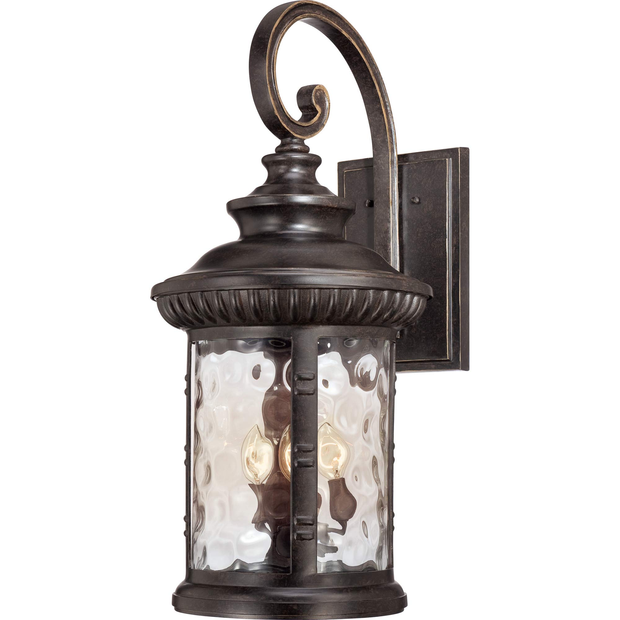 Quoizel CHI8413IB Four Light Outdoor Wall Tabletop Lanterns Extra Large Imperial Bronze