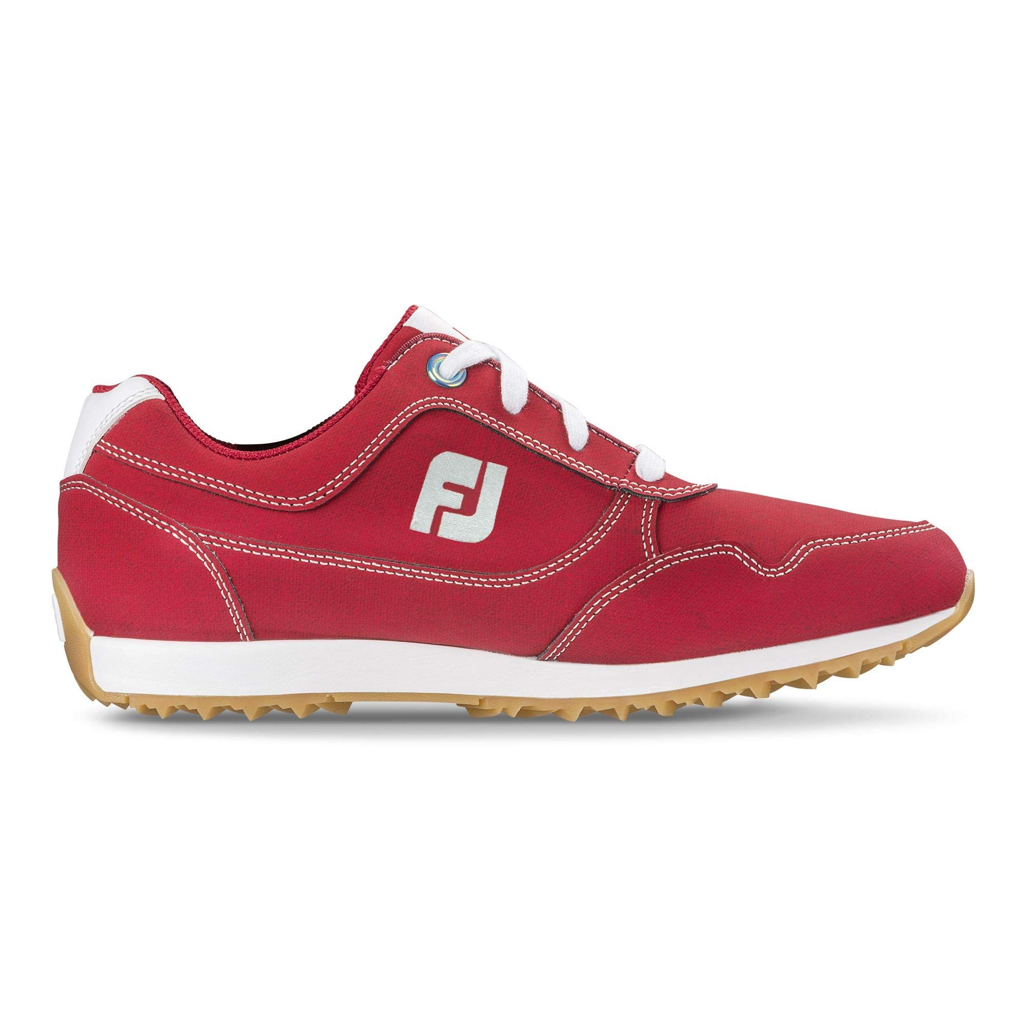 FootJoy Women's Sport Retro Golf Shoes Red 6.5 M US by FootJoy