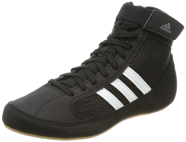 8735311b Amazon.com | adidas Havoc Kids Junior Wrestling Trainer Shoe Boot Black |  Wrestling