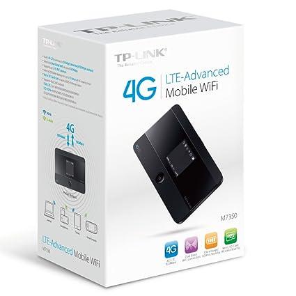 Amazon com: TP-LINK M7350 LTE Advanced Mobile Wi-Fi 150 Mbps