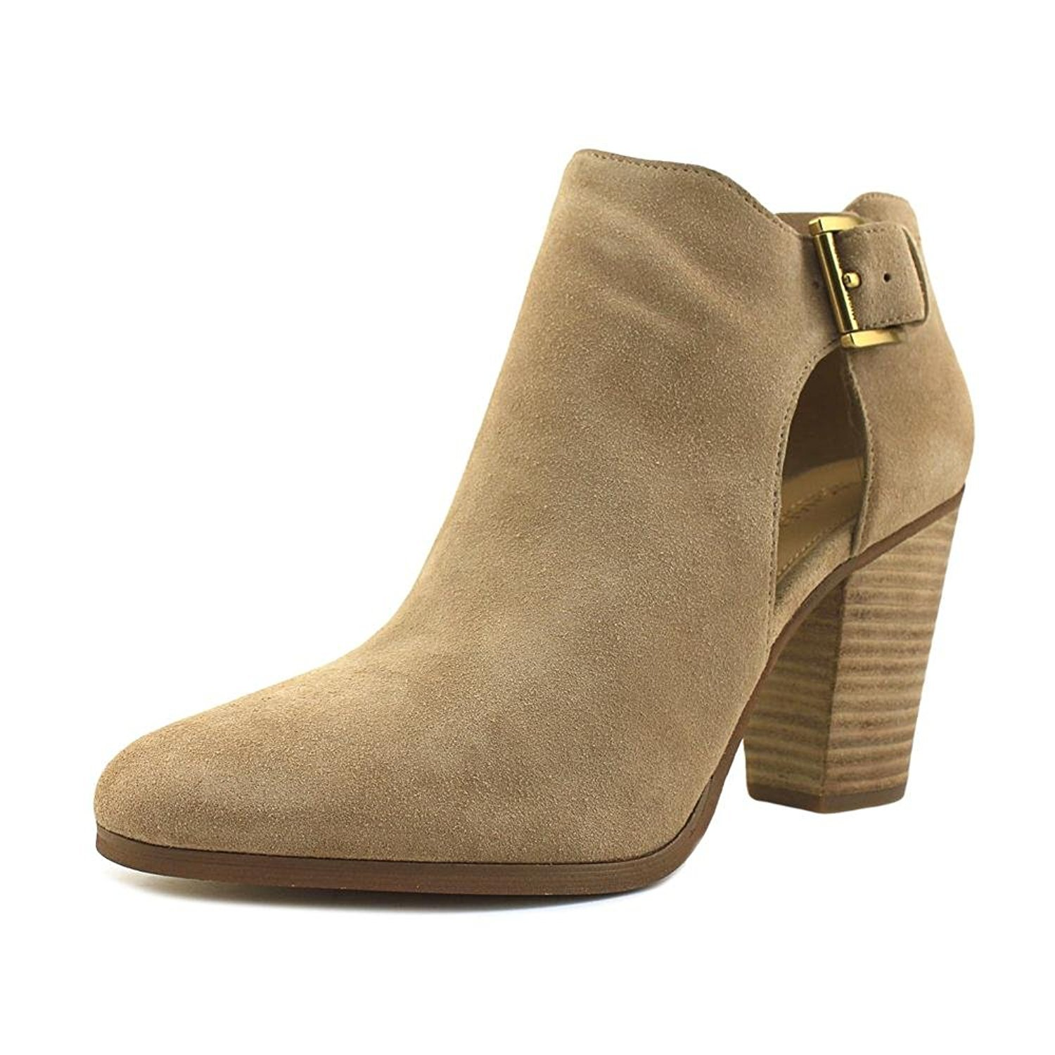MICHAEL Michael Kors Women's Adams Bootie Dark Khaki Boot