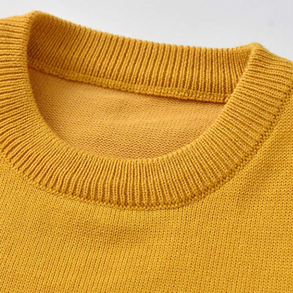 La vogue Toddler Kids Cute Cartoon Knit Vest Sweater Warm Cotton Pullover Sleeveless Vest Knit Tank Top