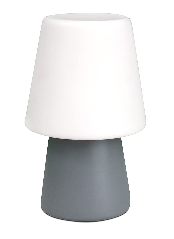 8Seasons 32558 – Lámpara de Mesa LED No. 1 Micro Gris ...