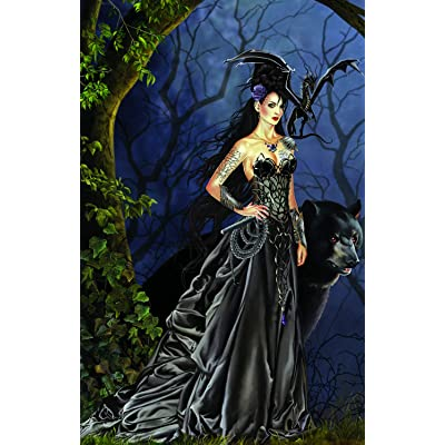 Mistress of The Lycani 1000 pc Jigsaw Puzzle by SunsOut: Toys & Games