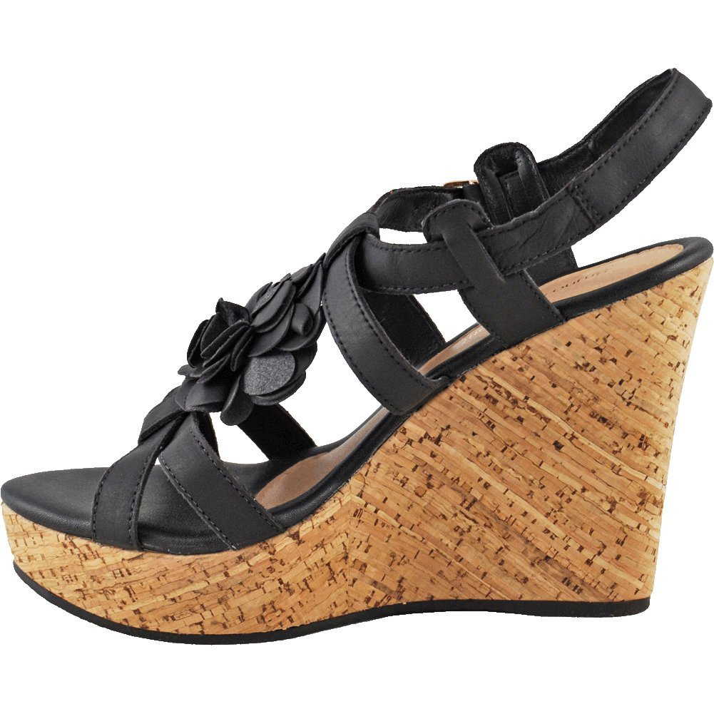 Bruno Menegatti 10255788 Womens Leather Wedge Sandal