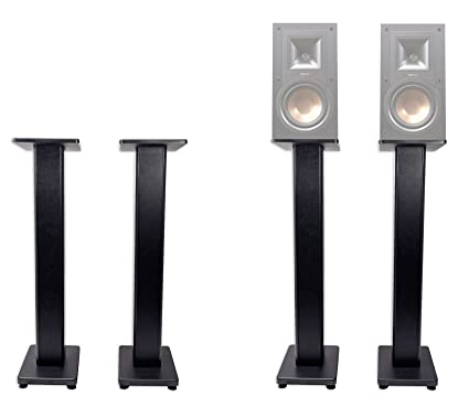 Pair 36quot Bookshelf Speaker Stands For Klipsch R 15PM Speakers