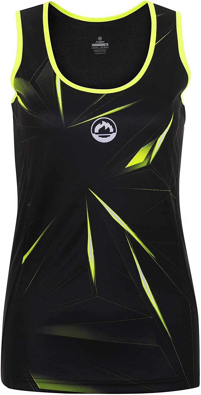 Camiseta Tirantes pádel Mujer J´hayber DS3197 Black. Talla L