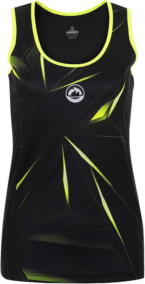 Camiseta Tirantes pádel Mujer J´hayber DS3197 Black. Talla XS ...