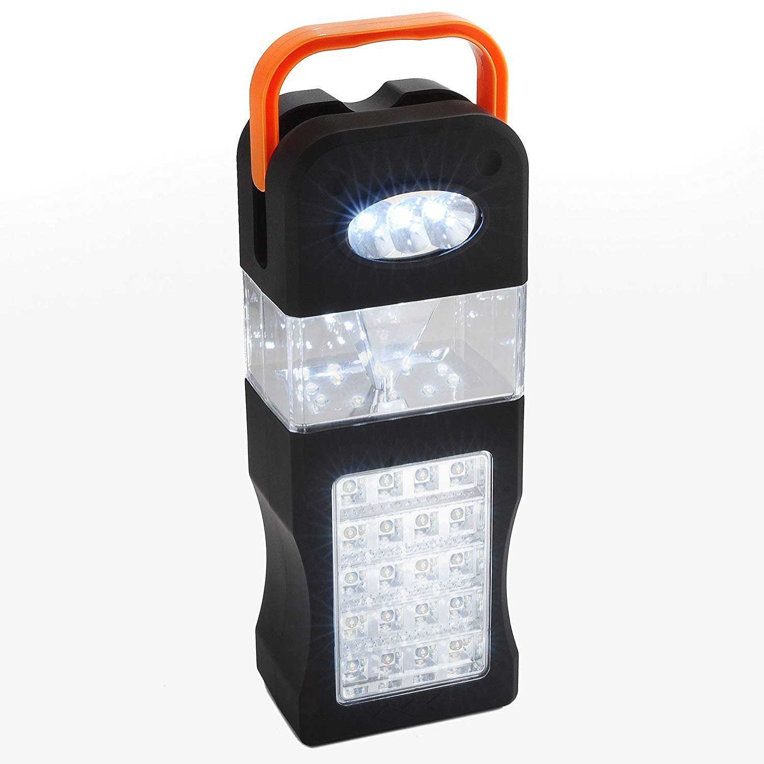 Camping Lantern with 33 LEDs – Provides 10 Hours of Bright Illumination – Carrying Hanging Handle