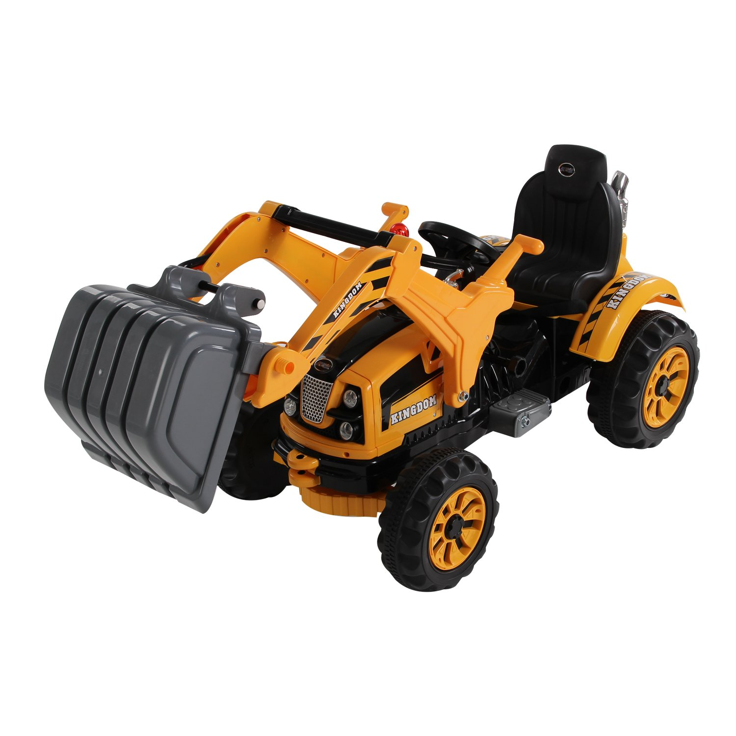 jcb battery operated ride on toy tractor loader digger for