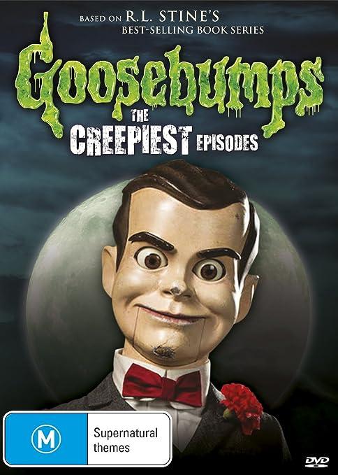 Amazon Com Goosebumps The Creepiest Episodes R L Stine Dvd Scott Pietrangelo Gabrielle Boni Bradie Whetham R L Stine Randy Bradshaw Movies Tv