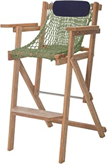 product image for Nags Head Hammocks Cumaru Folding Rope Barstool, Meadow DuraCord