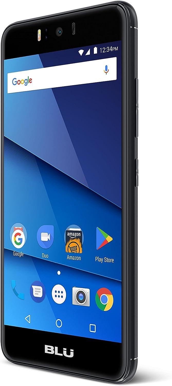 BLU R2-4G LTE Unlocked Smartphone - 16GB + 2GB RAM -Black