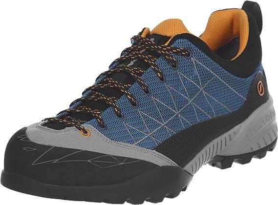 Scarpa ZEN Pro Mid Gtx® Blau-Grau, Damen Gore-Tex® Hiking- & Approach-Schuh, Größe EU 38 - Farbe Midgray-Lagoon Damen Gore-Tex® Hiking- & Approach-Schuh, Midgray - Lagoon, Größe 38 - Blau-Grau