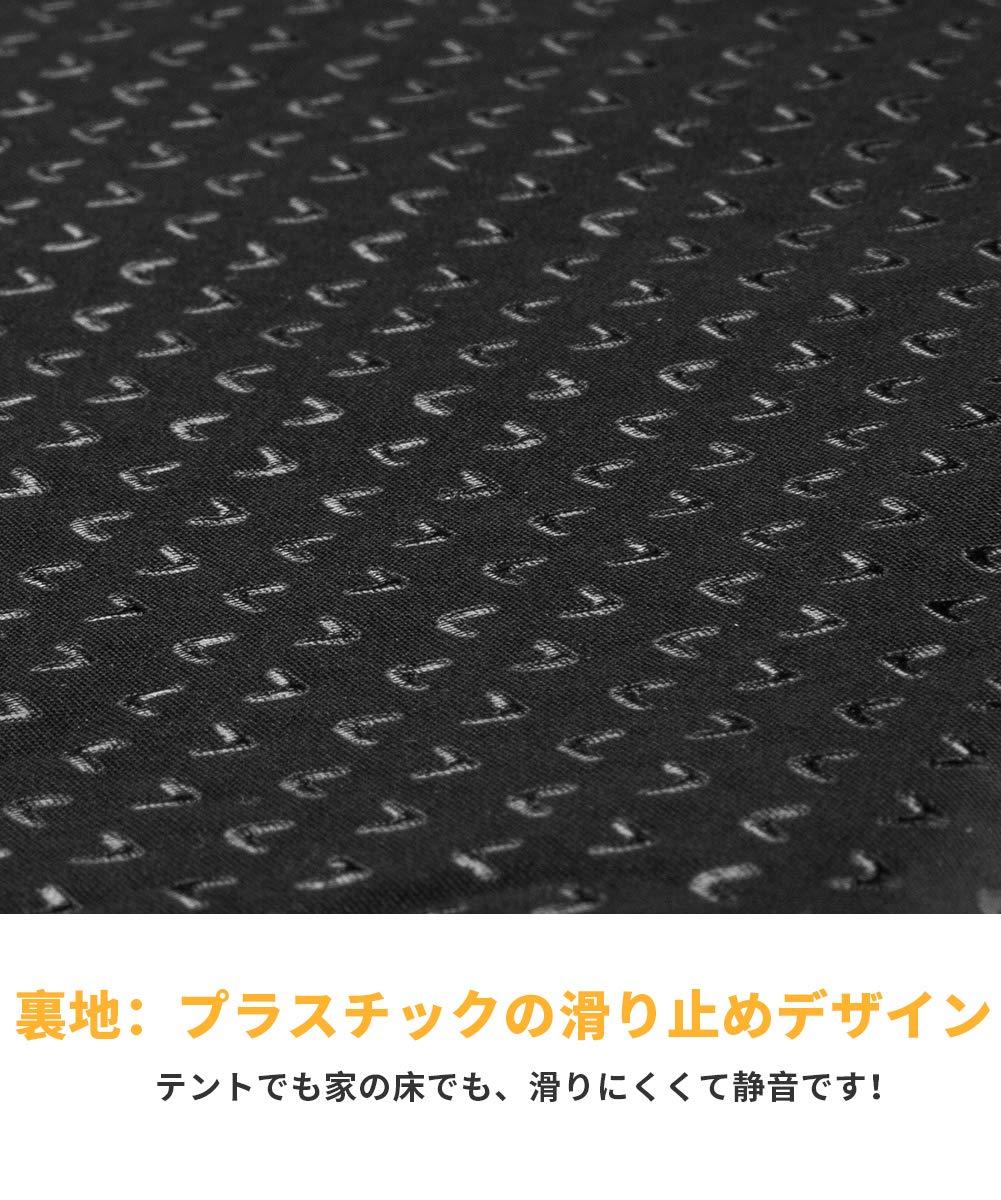 KingCamp Wave Super Tapis de Sol autogonflable avec Trois Zones de Syst/ème 183/x 51/x 3,8/cm