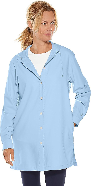 bluee Harbor Coolibar UPF 50+ Women's Beach Shirt  Sun Predective