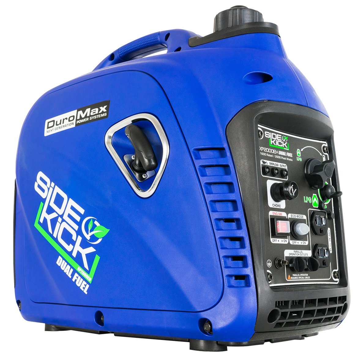 DuroMax XP2000EH Dual Fuel Generator, Blue by DuroMax