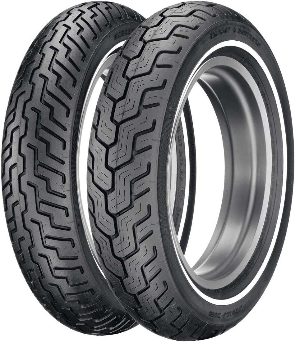 72H Dunlop American Elite Front Motorcycle Tire MT90B-16 Black Wall for Harley-Davidson Tri Glide Ultra Classic FLHTCUTG 2009-2018